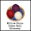 The Willow Store Wool Dryer Balls Review