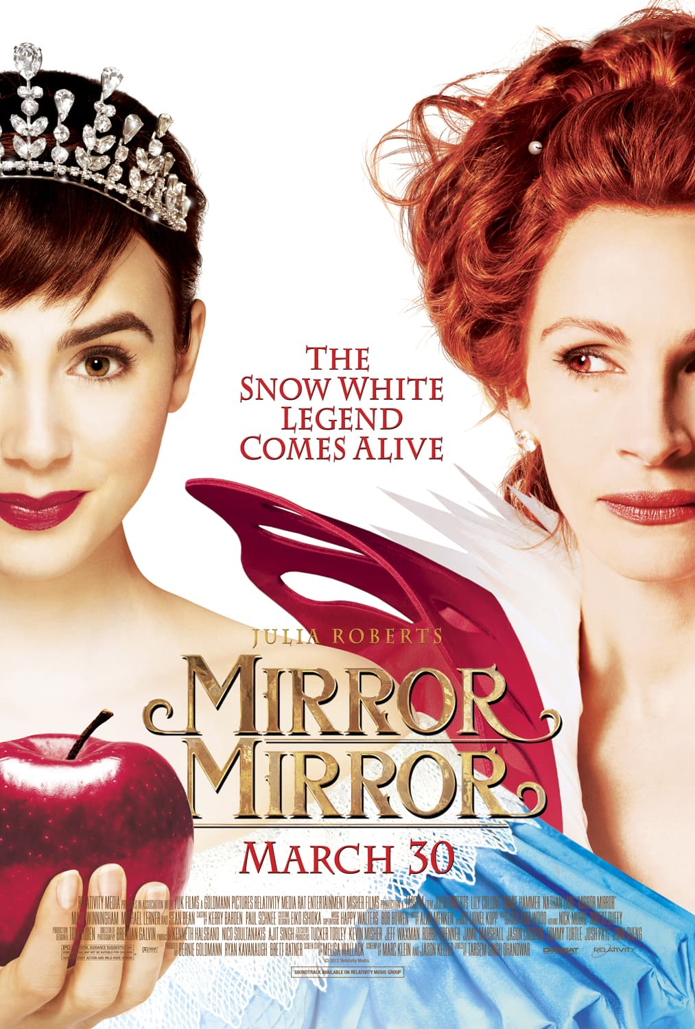 Mirror Mirror on the wall….. {In theaters March 30th}