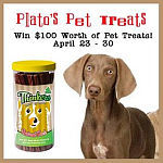 Plato's Pet Treat Give Away {ends April 30th}