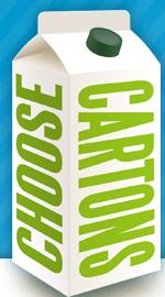 Do you use Plastic or Paper? Evergreen Fridge Hunt  #choosecartons