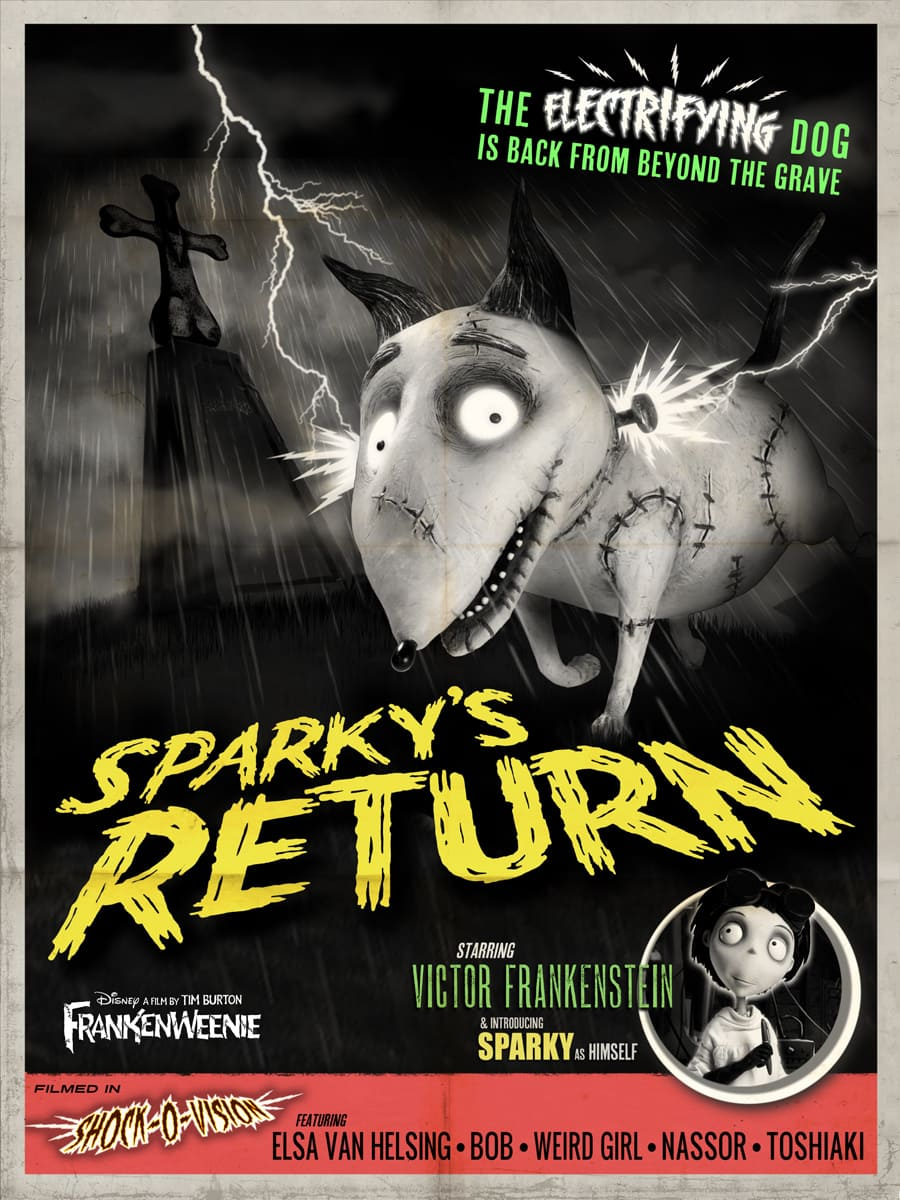 Frankenweenie Games and Recipes