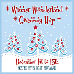 Winner Wonderland Giveaway Event #winnerwndrland {ends 12/15}
