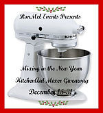 KitchenAid Stand Mixer Giveaway Event {ends 12/31}