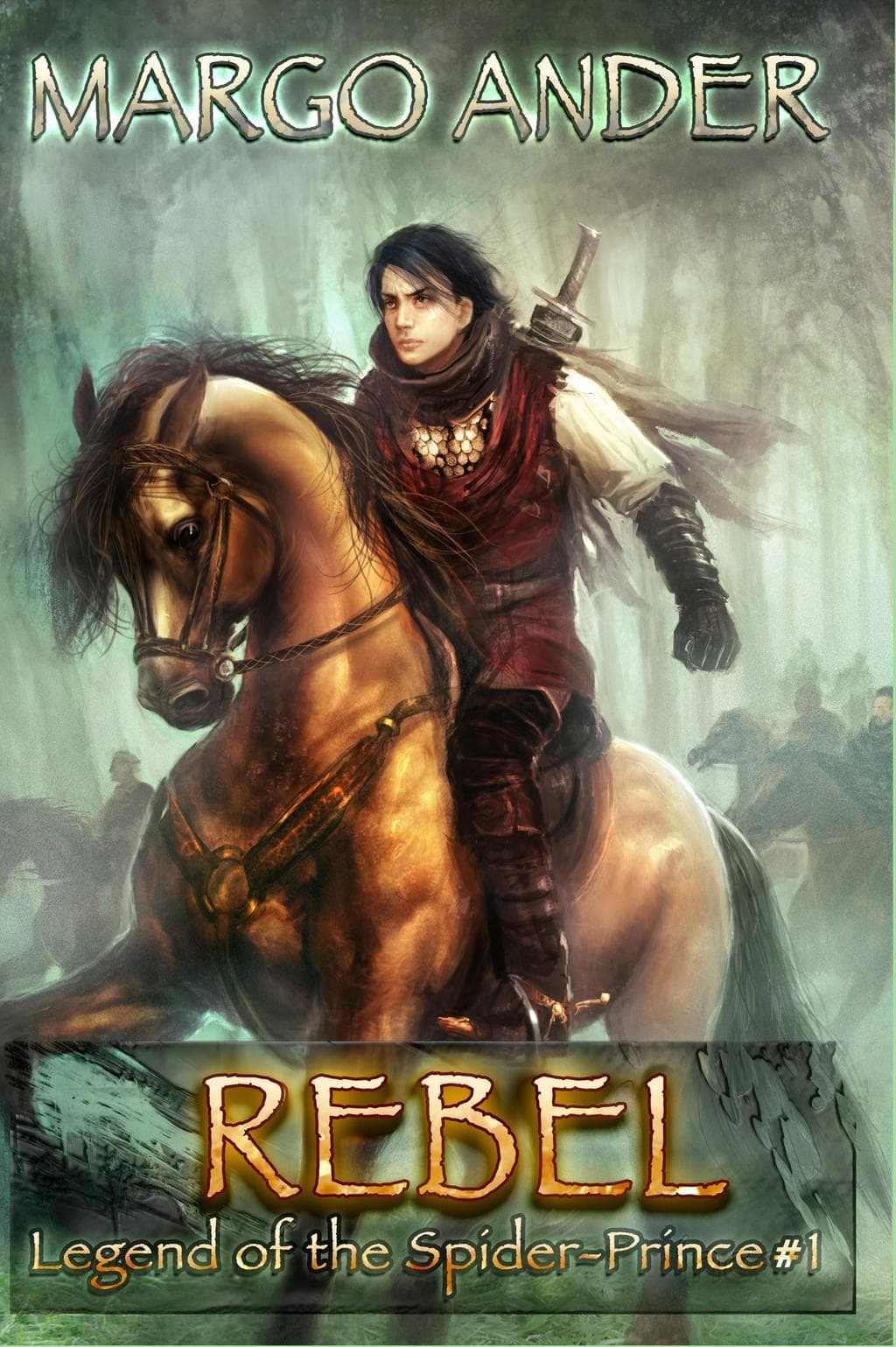 The Legend of the Spider-Prince by Margo Ander #booktour #bookreview #giveaway