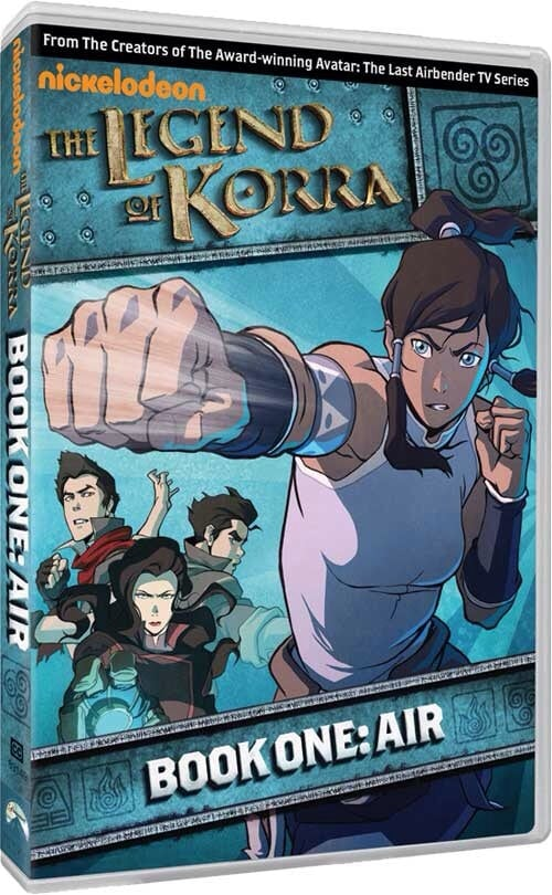 The Legend Of Korra: Book One – Air DVD giveaway ends 11/20