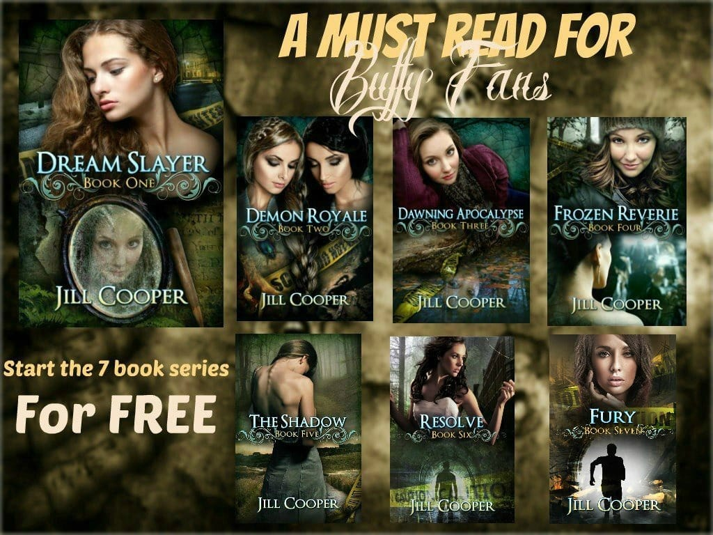 The Dream Slayer Series by Jill Cooper #excerpt #giveaway
