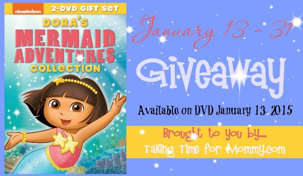 Dora Mermaid Collection #giveaway ends 1/31