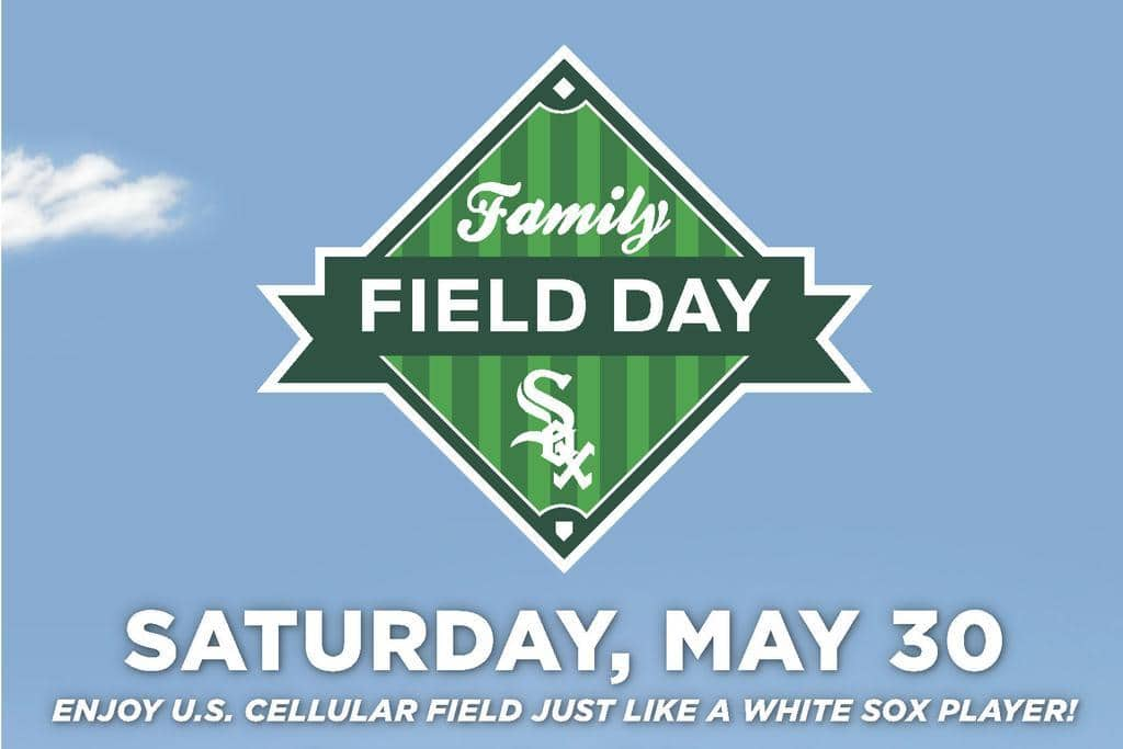 White Sox Family Field Day! plus #giveaway (ends 5/26 at 11:59 EST) @whitesox
