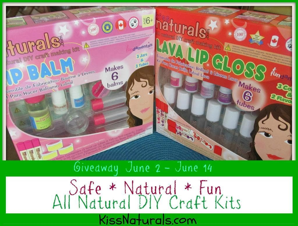 Kiss Naturals DIY Craft Kit #Giveaway