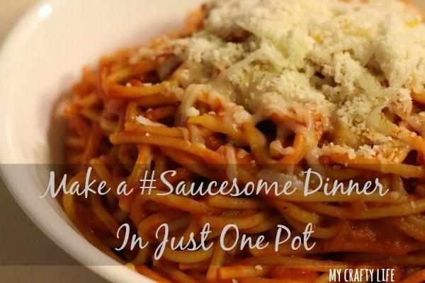 One Pot Pasta – Ragú® #Saucesome @RaguSauce #ad
