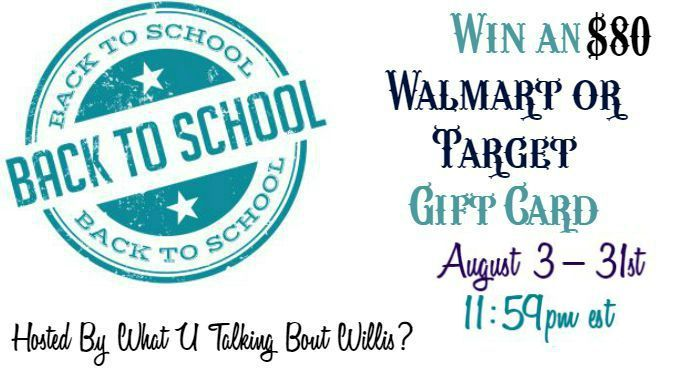 Back to School Giveaway 8/3-8/31 (ends 11:59pm est)