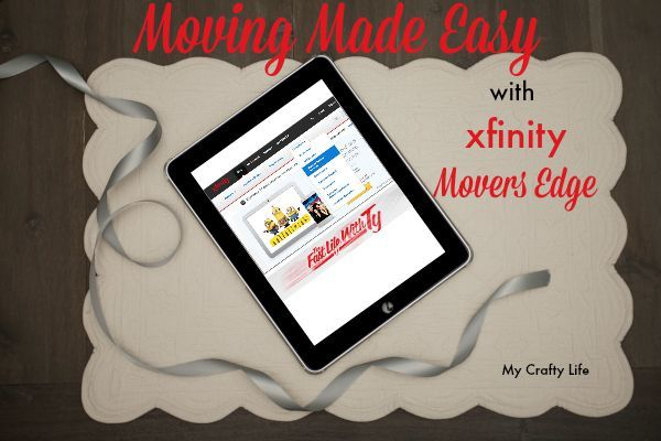 Moving Made Easy With Movers Edge @tysofast #xfinity #sponsor