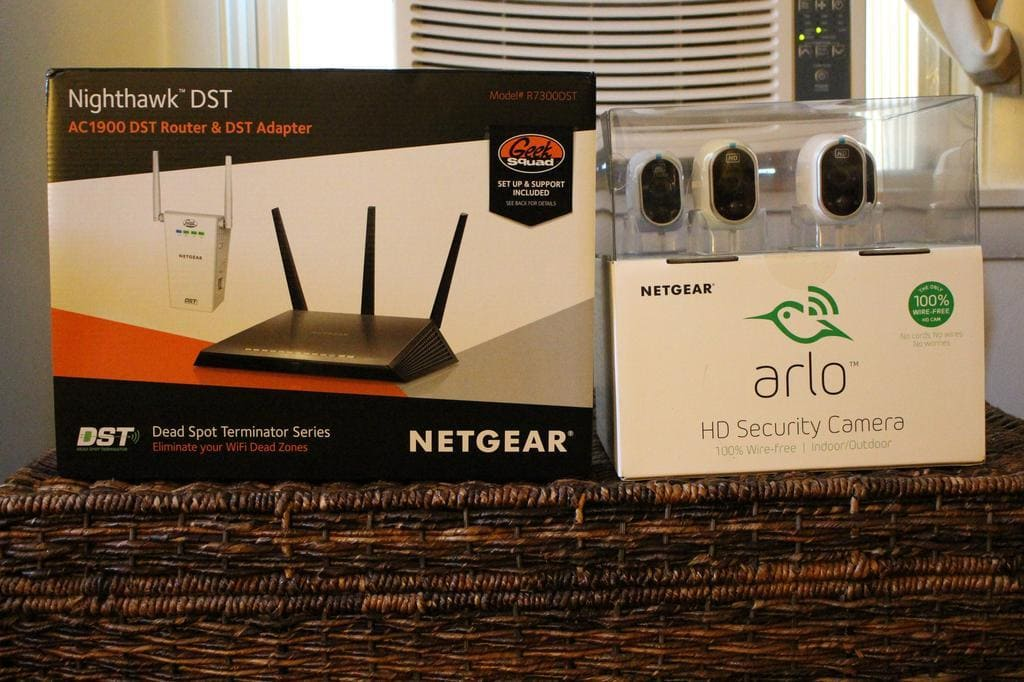 Netgear Arlo Smart Home Security System #BBYConnectedHome #ad