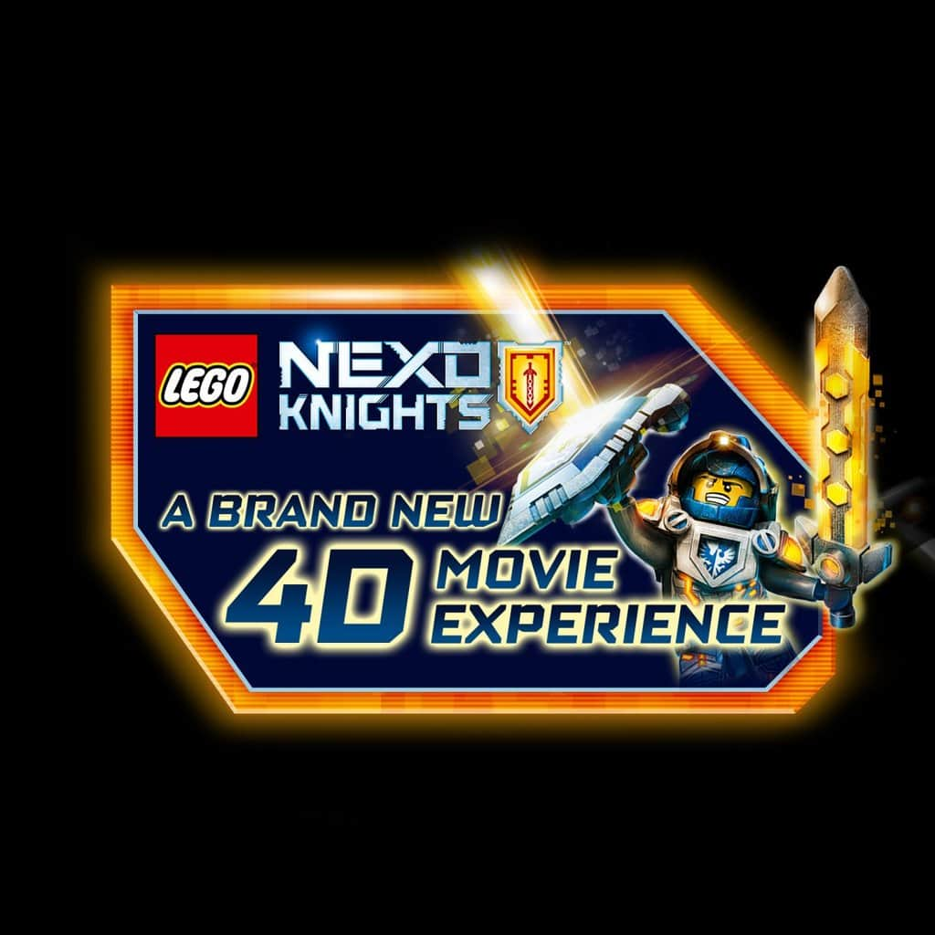 4D LEGO® NEXO KNIGHTS™ Movie Experience