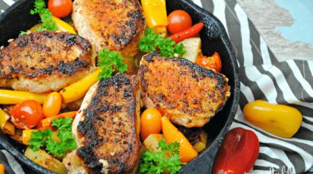 Chipotle Cast Iron Pork Meal