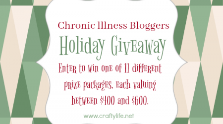 Holiday Giveaway – Chronic Illness Bloggers {ends 12/3/16}