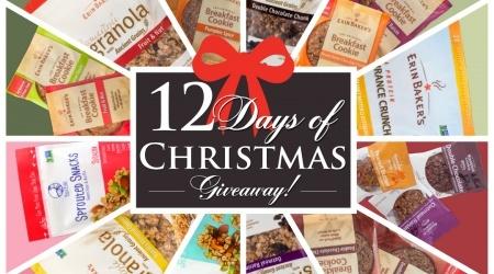 Erin Baker's 12 Days of Christmas! ends 12/23/2016