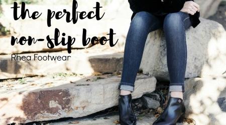 The perfect non-slip boot