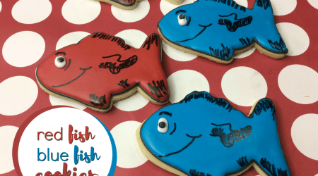 Red Fish Blue Fish Cookies