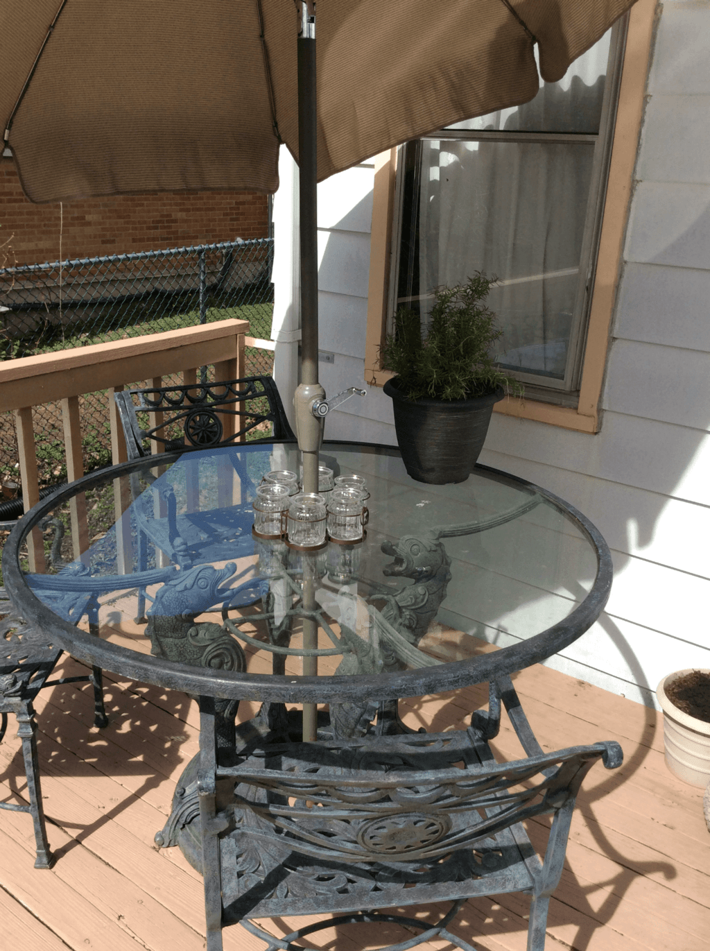 The journey of making our house a home has been a long one, and Big Lots helped me turn our outdoor space back into a relaxing oasis with wonderful patio furniture and adorable accessories!