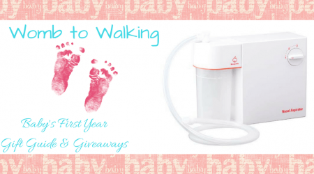 BabySmile Nasal Aspirator Giveaway – ends 4/14