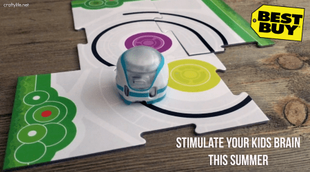Stimulate Your Kids Brain This Summer with the Ozobot Evo