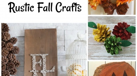 20 DIY Rustic Fall Crafts