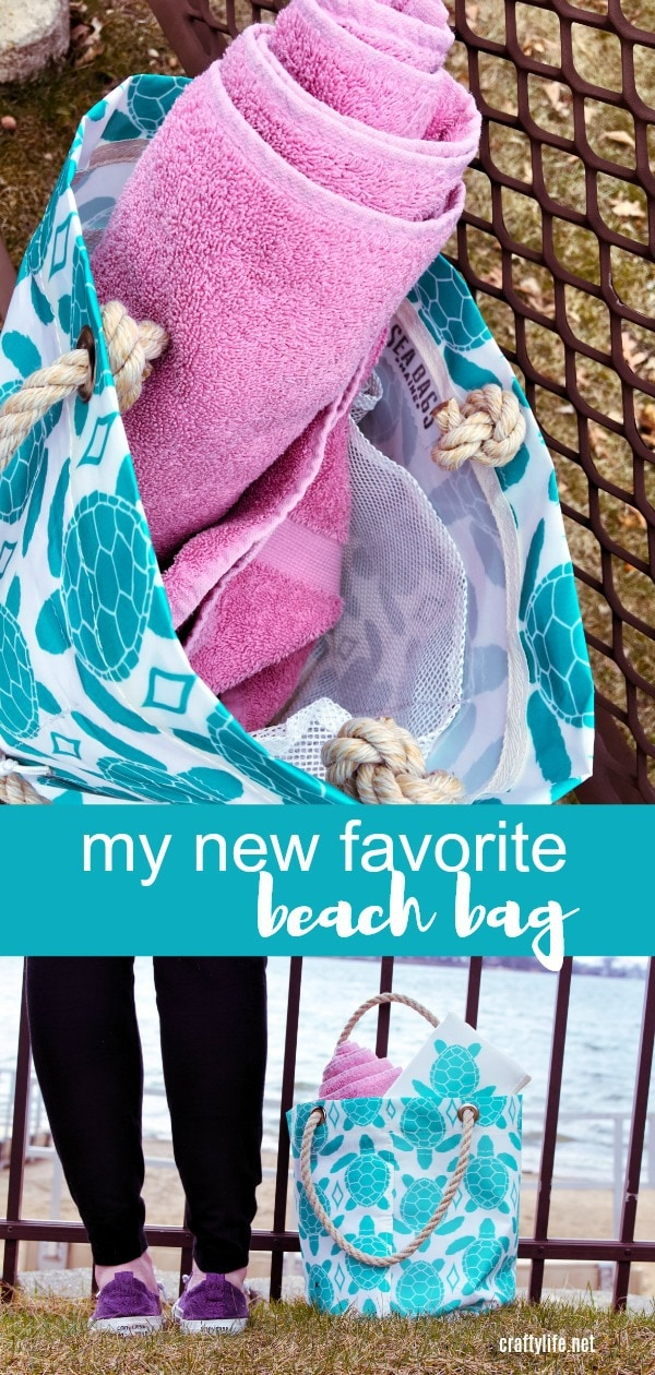 Sea Bags are unique, eco-friendly, sustainable and the best-made beach bag I have ever owned! Made in Maine USA, each bag is crafted and handmade out of recycled sailcloth.  Each bag or accessory is nautical themed and I dare you NOT to find one you will love!