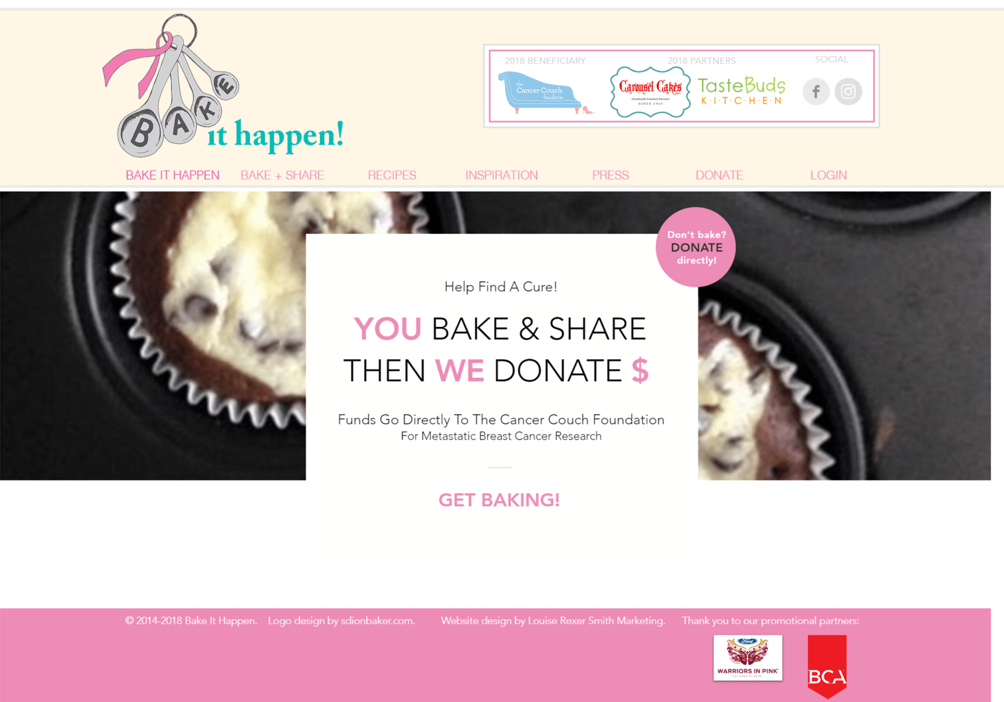 Bake It Happen Bake & Share